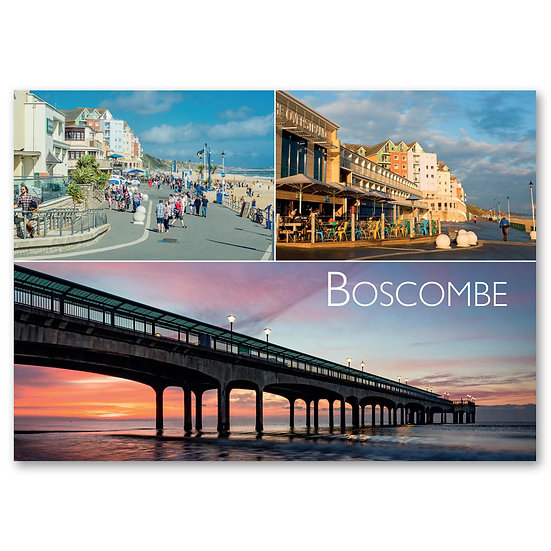 Boscombe Beachfront - Sold in pack (100 postcards)
