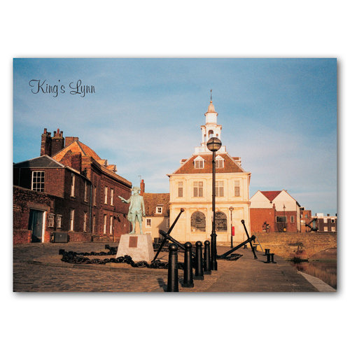 Kings Lynn George Vancouver - Sold in pack (100 postcards)