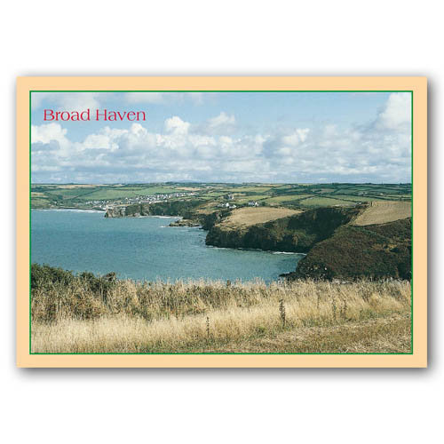 Broad Haven - Sold in pack (100 postcards)