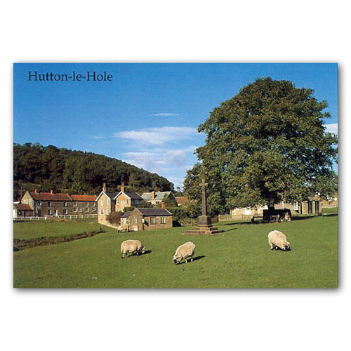Hutton Le Hole - Sold in pack (100 postcards)