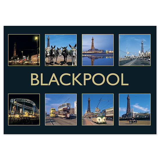 Blackpool Compilation - Sold in pack (100 postcards)