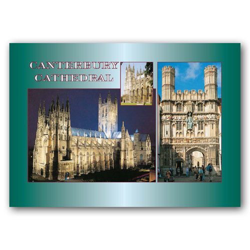 Canterbury Cathedral - Sold in pack (100 postcards)