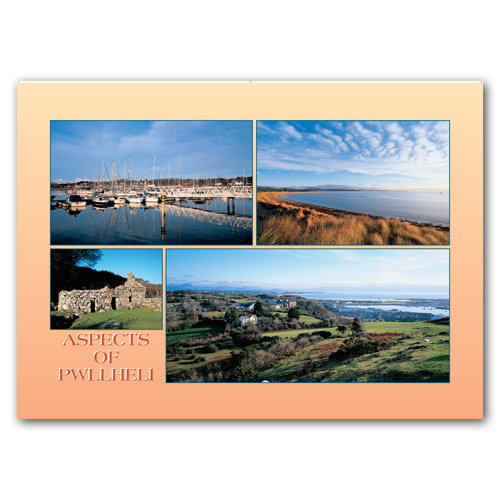 Pwllheli Aspects of - Sold in pack (100 postcards)