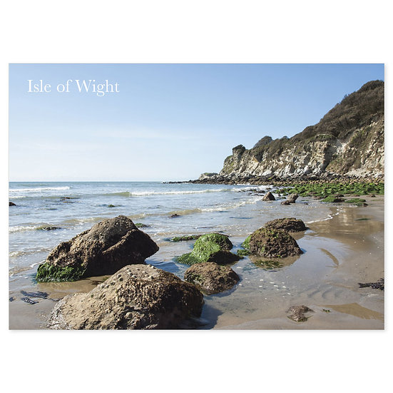 Isle of Wight Beaches - Sold in pack (100 postcards)