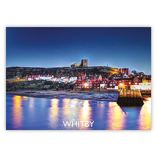Whitby Moonlight - Sold in pack (100 postcards)