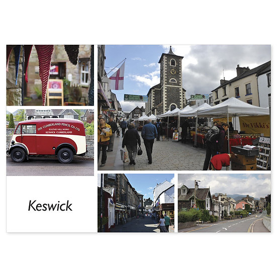 Keswick Comp - Sold in pack (100 postcards)
