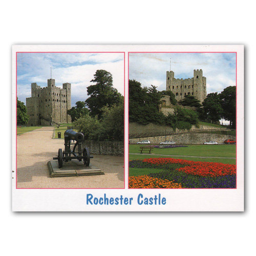 Rochester Castle - Sold in pack (100 postcards)