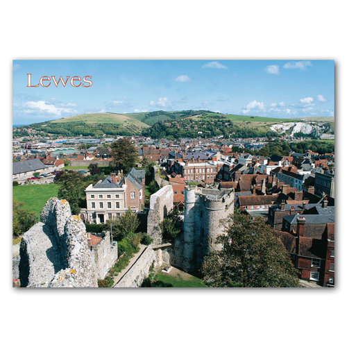 Lewes - Sold in pack (100 postcards)