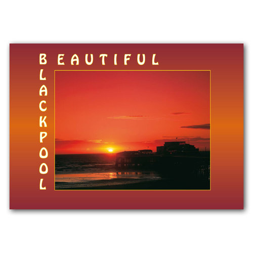 Blackpool Beautiful - Sold in pack (100 postcards)