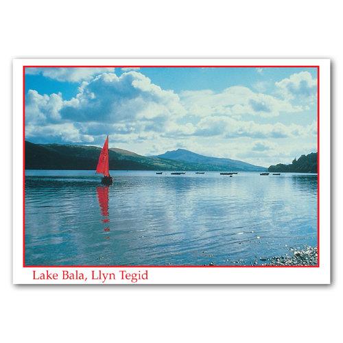 Bala Lake - Sold in pack (100 postcards)