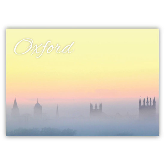 Oxford Sunrise - Sold in pack (100 postcards)