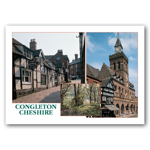 Congleton - Sold in pack (100 postcards)