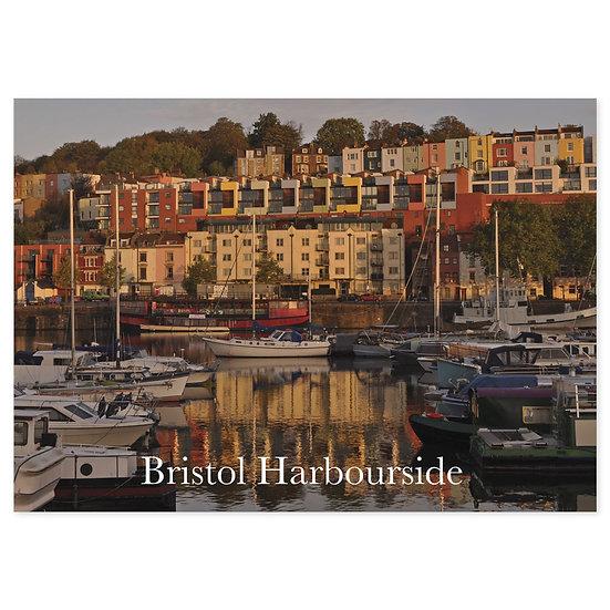 Bristol Harbourside - Sold in pack (100 postcards)