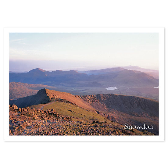 Snowdon Sunset View - Sold in pack (100 postcards)