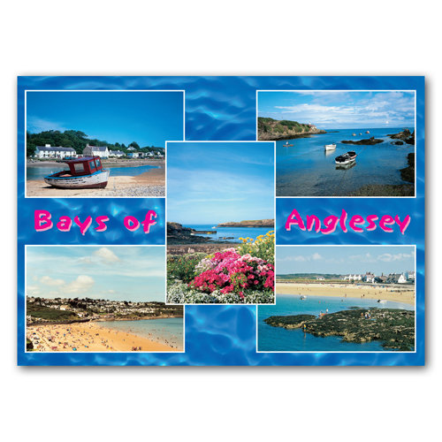 Anglesey Bays of - Sold in pack (100 postcards)