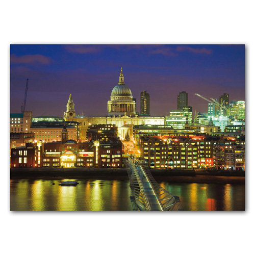 London St Pauls Cathedral - Sold in pack (100 postcards)