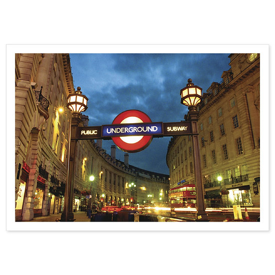 London Underground - Sold in pack (100 postcards)