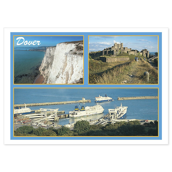 Dover - Sold in pack (100 postcards)
