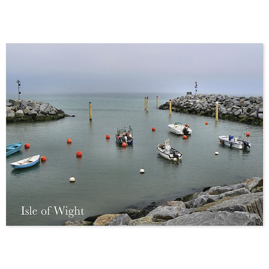 Isle of Wight Harbour - Sold in pack (100 postcards)