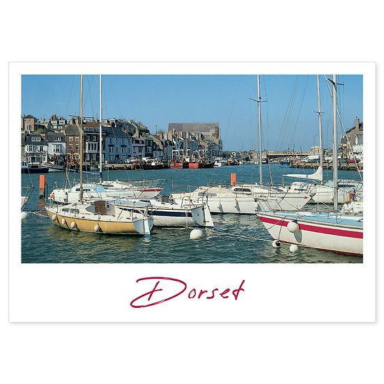 Weymouth, Dorset Just - Sold in pack (100 postcards)