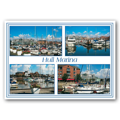Hull Marina - Sold in pack (100 postcards)