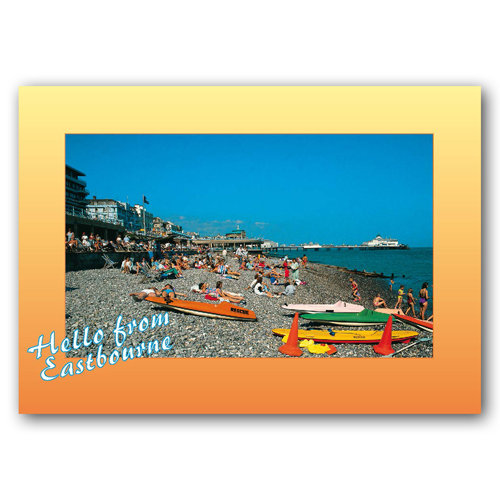 Eastbourne Beach - Sold in pack (100 postcards)