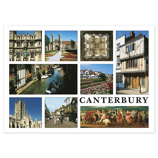 Canterbury Cathedral Compilation - Sold in pack (100 postcards)