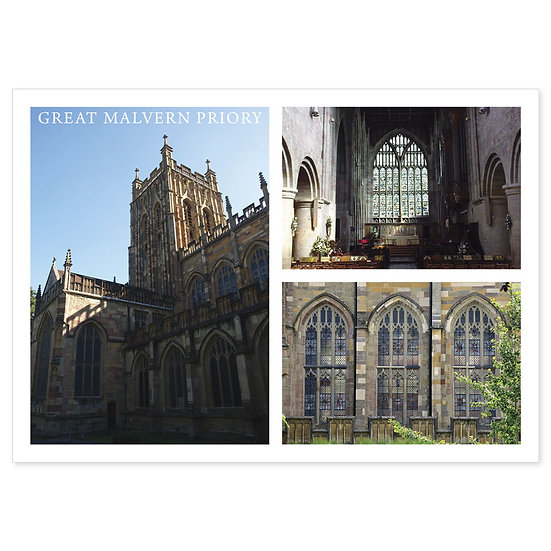 Great Malvern Priory Comp - Sold in pack (100 postcards)