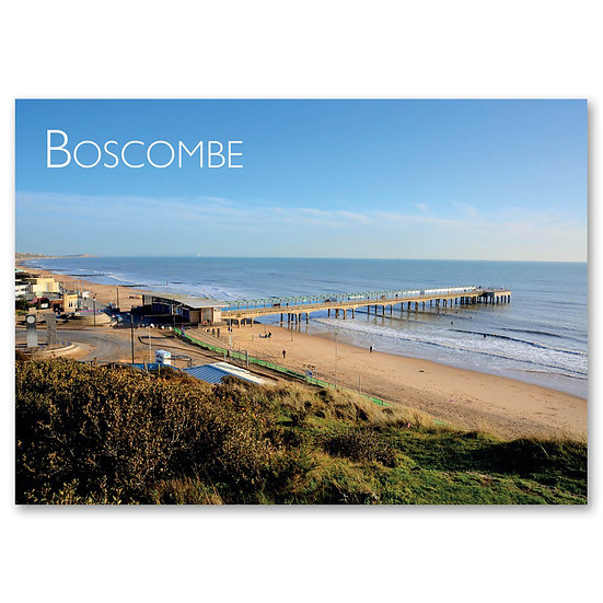 Boscombe Pier - Sold in pack (100 postcards)