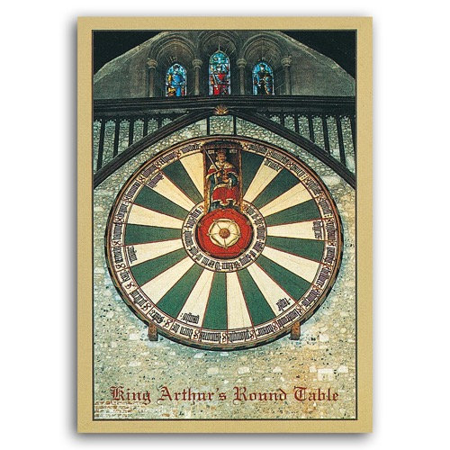 Winchester King Arthurs Round Table - Sold in pack (100 postcards)