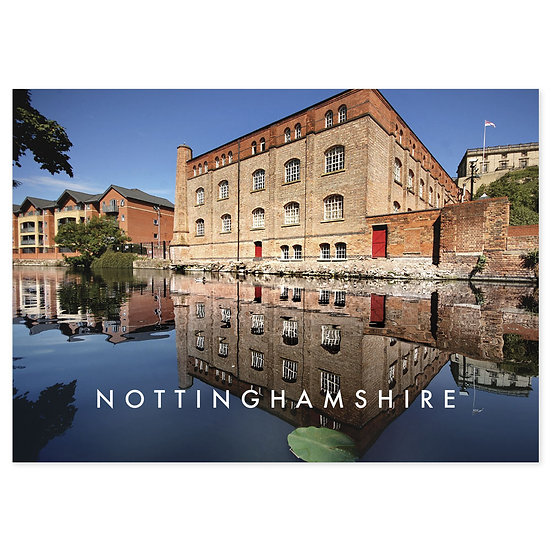 Nottinghamshire - Sold in pack (100 postcards)