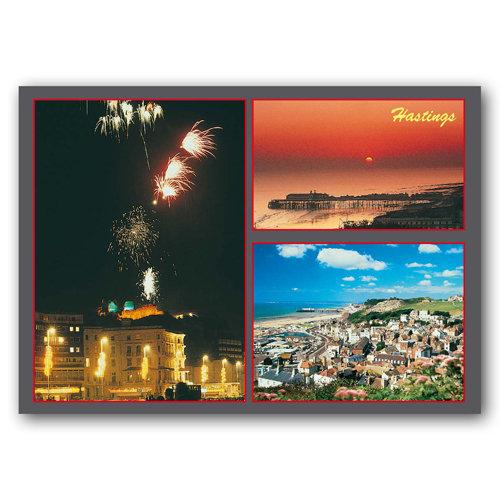 Hastings - Sold in pack (100 postcards)