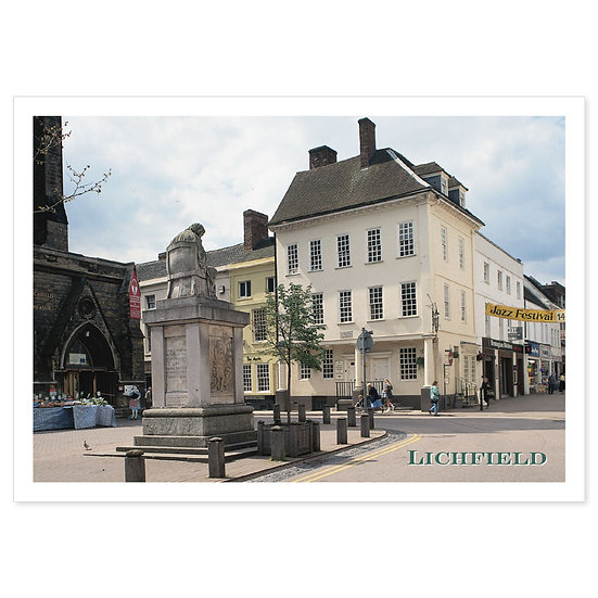 Lichfield - Sold in pack (100 postcards)