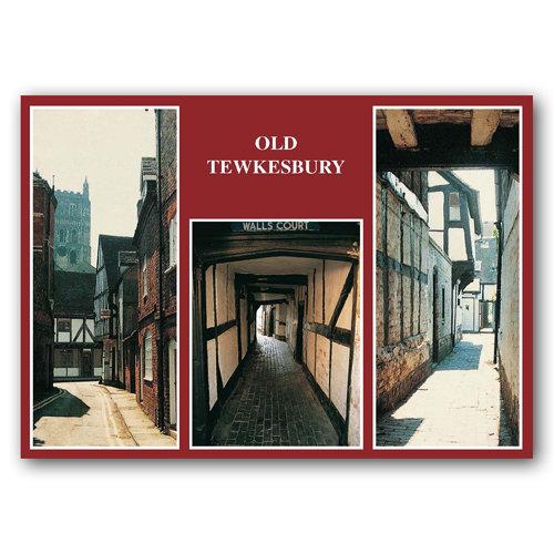 Tewkesbury Old Comp - Sold in pack (100 postcards)