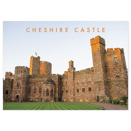 Cheshire Castle - Sold in pack (100 postcards)