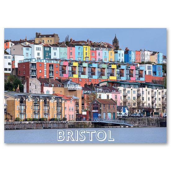 Bristol, River Avon - Sold in pack (100 postcards)