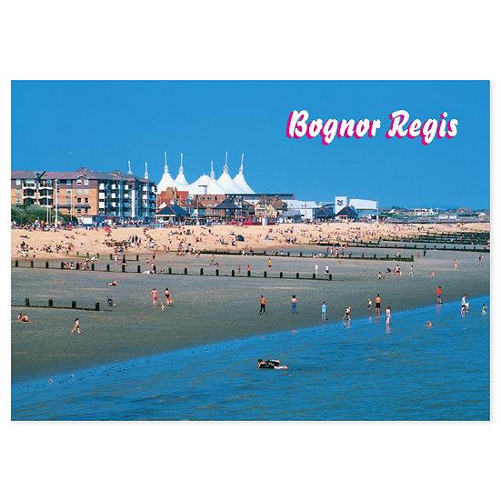 Bognor Regis Seafront - Sold in pack (100 postcards)