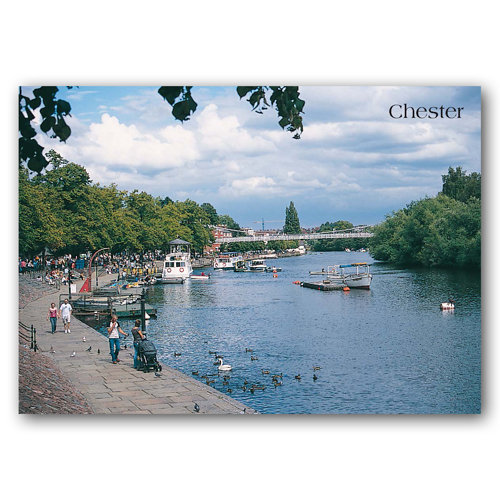 Chester & River Dee - Sold in pack (100 postcards)