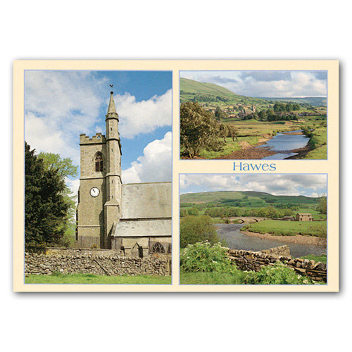 Hawes 3 View Comp - Sold in pack (100 postcards)