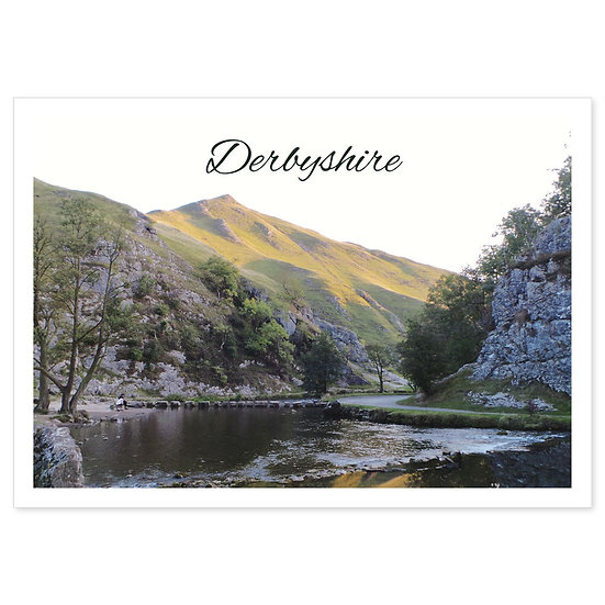Derbyshire Dove Valley Dusk - Sold in pack (100 postcards)
