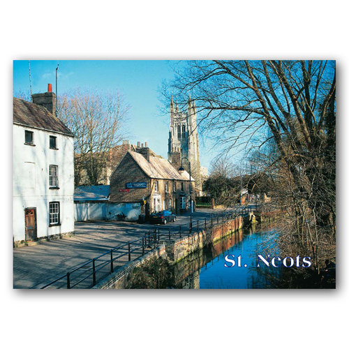 St Neots - Sold in pack (100 postcards)