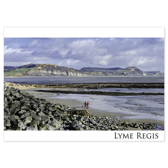 Lyme Regis Coastal View - Sold in pack (100 postcards)