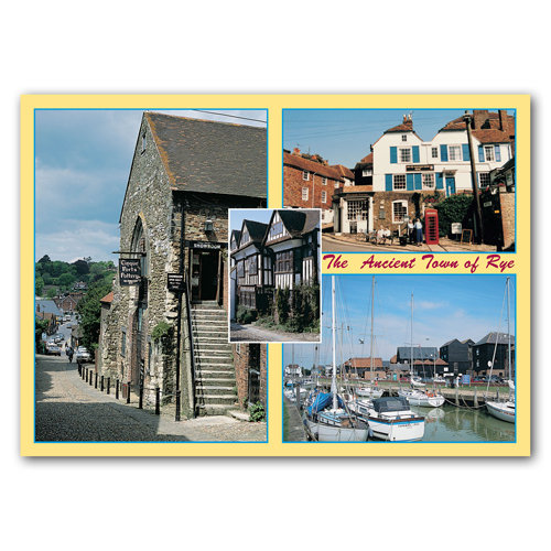 Rye The Ancient Town - Sold in pack (100 postcards)
