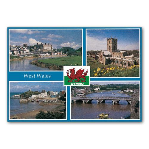 West Wales Comp - Sold in pack (100 postcards)