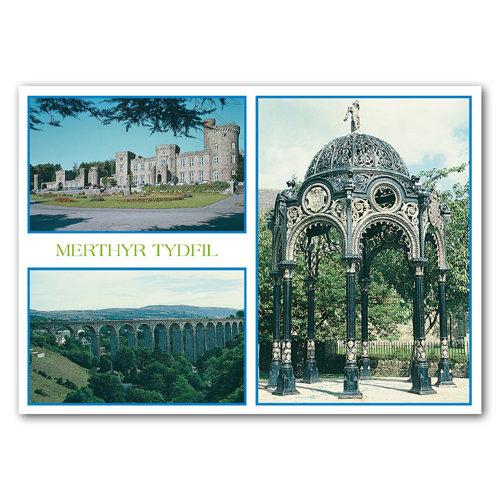 Merthyr Tydfil - Sold in pack (100 postcards)