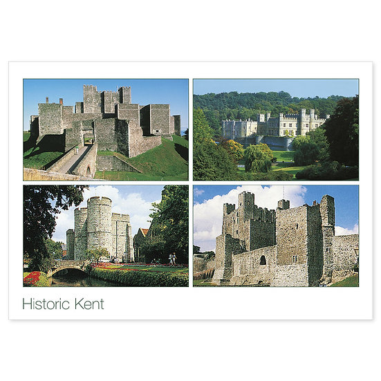 Kent Historic Compilation - Sold in pack (100 postcards)