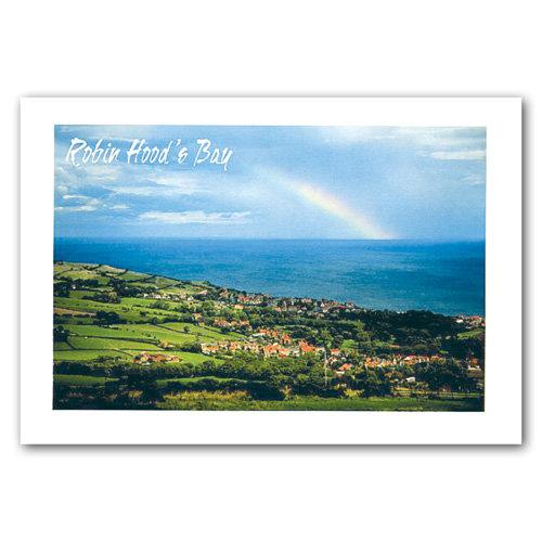 Robin Hoods Bay - Sold in pack (100 postcards)