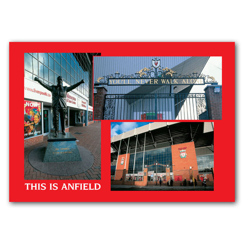 Liverpool Anfield - Sold in pack (100 postcards)