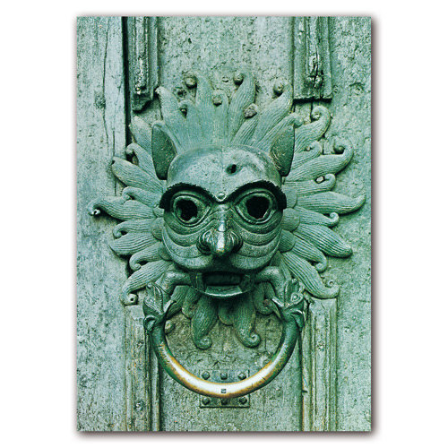 Durham Cathedral Knocker - Sold in pack (100 postcards)