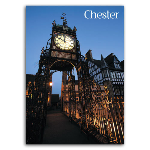Chester Eastgate Clock - Sold in pack (100 postcards)